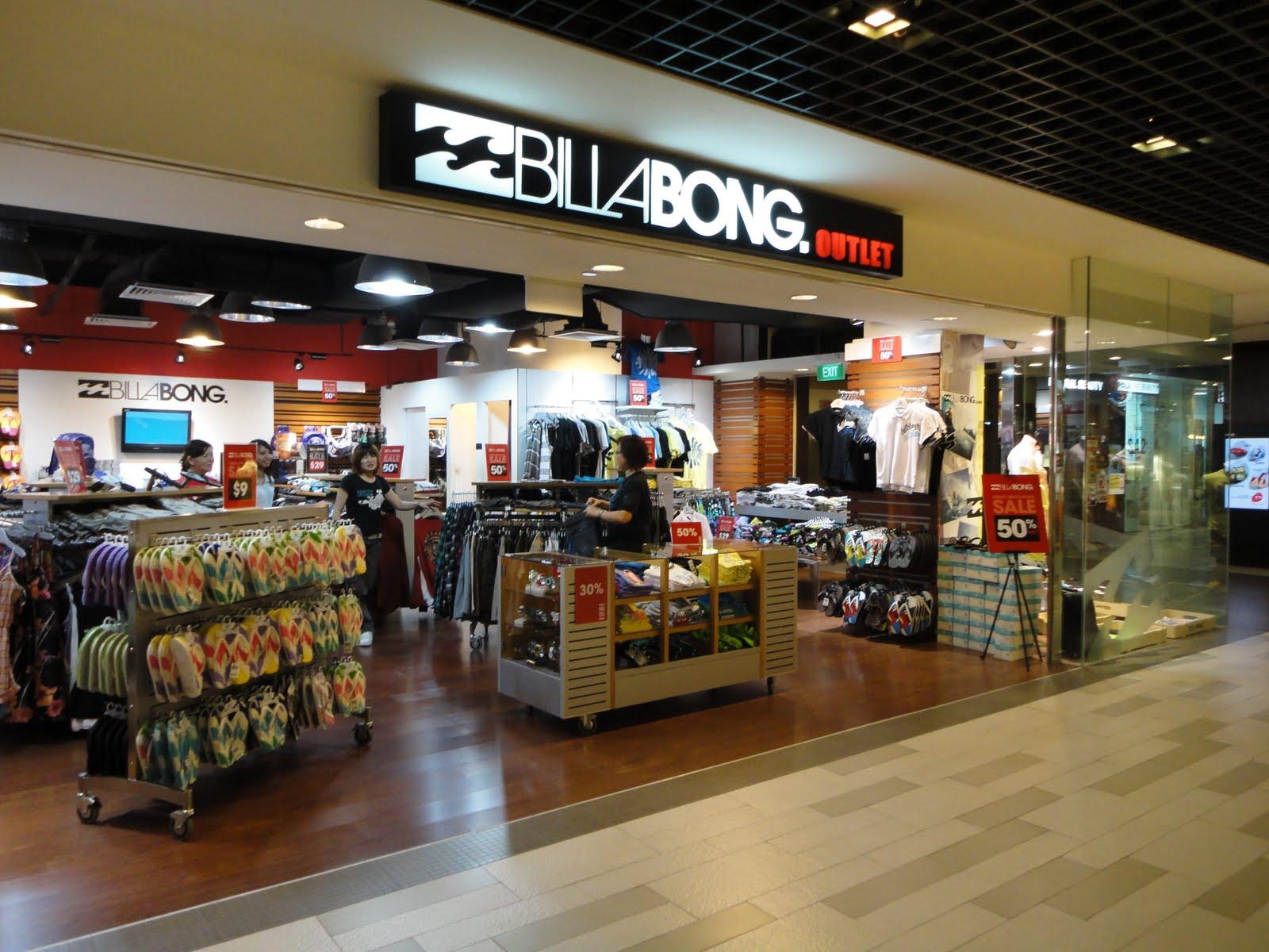 Billabong clothing store
