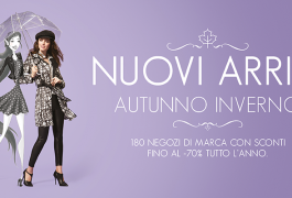 Autunno Inverno Outlet Valmontone Roma