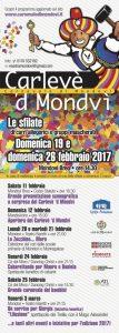 Programma Carnevale 2017 Mondovi